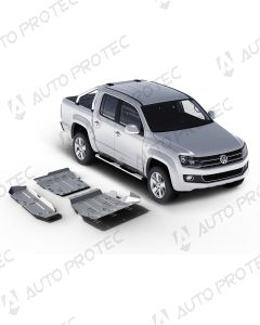 AutoProtec kryty podvozku 6 mm - sada Volkswagen Amarok 2.0 TDI