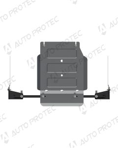 Sheriff kryt přídavné převodovky 5 mm – Fiat Fullback