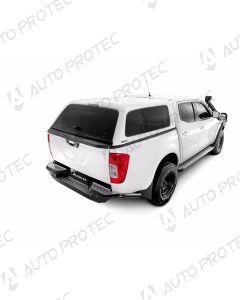 AEROKLAS hardtop Fleet – Nissan Navara s bočními okny výklopnými do boku