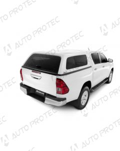 AEROKLAS hardtop Fleet – Toyota Hilux s bočními okny výklopnými do boku