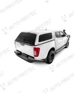 AEROKLAS hardtop Fleet – Nissan Navara s bočními okny výklopnými nahoru