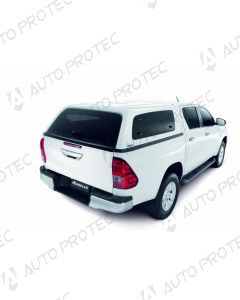 AEROKLAS hardtop Fleet – Toyota Hilux s bočními okny výklopnými nahoru