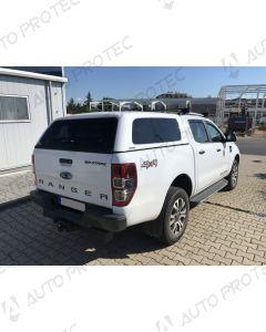 AEROKLAS hardtop Fleet – Ford Ranger s bočními okny výklopnými do boku