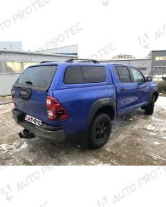 AEROKLAS hardtop Toyota Hilux s bočními okny výklopnými do boku