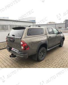 AEROKLAS hardtop Toyota Hilux s bočními okny výklopnými nahoru