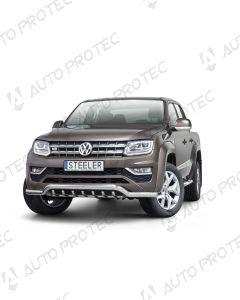 STEELER přední ochranný nerezový rám typ E - Volkswagen Amarok