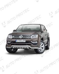 STEELER přední ochranný nerezový rám typ F - Volkswagen Amarok