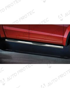 STEELER boční nerezové nášlapy typ C - Volkswagen Amarok