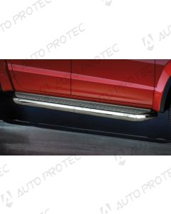 STEELER boční nerezové nášlapy typ A - Volkswagen Amarok