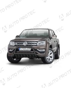 STEELER přední ochranný černý rám typ A - Volkswagen Amarok
