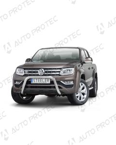STEELER přední ochranný nerezový rám typ D - Volkswagen Amarok