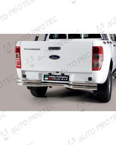 MISUTONIDA zadní nerezový rám - double Ford Ranger
