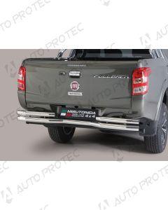 MISUTONIDA zadní nerezový rám - double Fiat Fullback