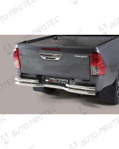 MISUTONIDA zadní nerezový rám - double Toyota Hilux