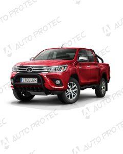 STEELER přední ochranný černý rám typ A - Toyota Hilux