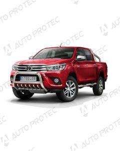STEELER přední ochranný nerezový rám typ A – Toyota Hilux