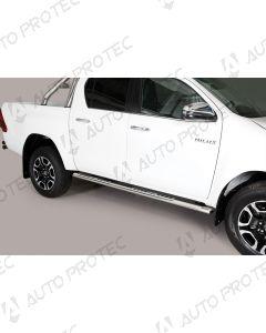 MISUTONIDA boční nerezové nášlapy - design Toyota Hilux 15-