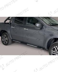 MISUTONIDA boční černé nášlapy - design Mercedes-Benz X-Class