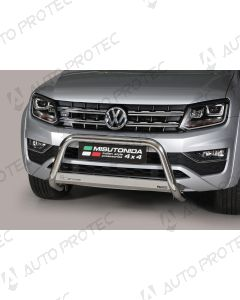 MISUTONIDA přední ochranný nerezový rám Volkswagen Amarok 63 mm