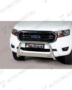 MISUTONIDA přední ochranný nerezový rám Ford Ranger 63 mm