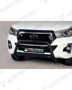 MISUTONIDA přední ochranný černý rám Toyota Hilux 63 mm