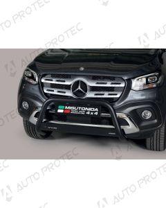 MISUTONIDA přední ochranný černý rám Mercedes-Benz X-Class 63 mm