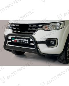 MISUTONIDA přední ochranný černý rám Nissan Navara 63 mm