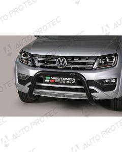 MISUTONIDA přední ochranný černý rám Volkswagen Amarok 76 mm