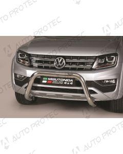MISUTONIDA přední ochranný nerezový rám Volkswagen Amarok 76 mm
