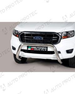 MISUTONIDA přední ochranný nerezový rám Ford Ranger 76 mm