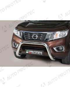 MISUTONIDA přední ochranný nerezový rám Nissan Navara 76 mm
