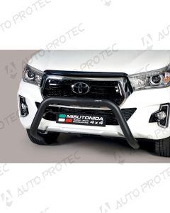 MISUTONIDA přední ochranný černý rám Toyota Hilux 76 mm