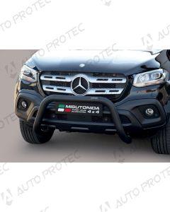 MISUTONIDA přední ochranný černý rám Mercedes-Benz X-Class 76 mm