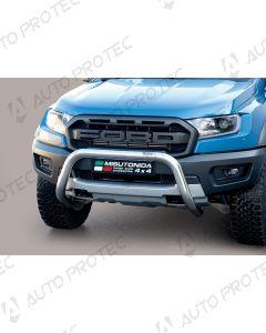 MISUTONIDA přední ochranný nerezový rám Ford Ranger Raptor 76 mm