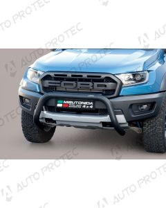 MISUTONIDA přední ochranný černý rám Ford Ranger Raptor 76 mm