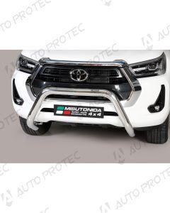 MISUTONIDA přední ochranný nerezový rám Toyota Hilux 76 mm 2020-