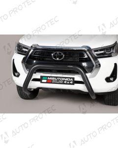 MISUTONIDA přední ochranný černý rám Toyota Hilux 76 mm 2020-