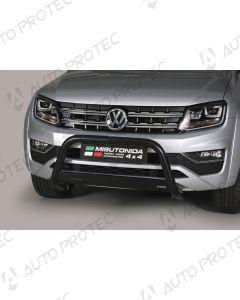 MISUTONIDA přední ochranný černý rám Volkswagen Amarok 63 mm