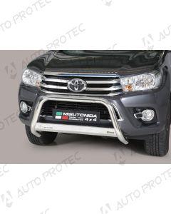 MISUTONIDA přední ochranný nerezový rám Toyota Hilux 63 mm