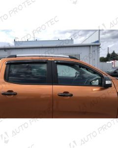 EGR Deflektory všech oken – Ford Ranger
