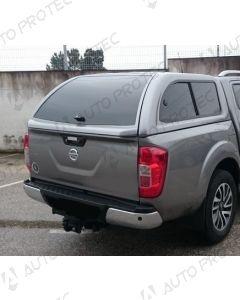 AutoProtec hardtop Extraline Fleet – Nissan Navara KC s posuvnými bočními okny