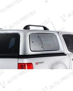 AEROKLAS Ford Ranger boční okno výklopné do boku - pravé