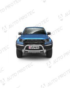 AutoProtec přední ochranný nerezový rám typ B - Ford Ranger Raptor