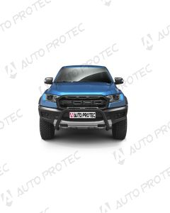 AutoProtec přední ochranný černý rám typ B - Ford Ranger Raptor