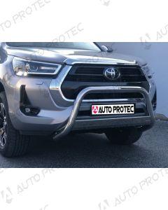 MISUTONIDA přední ochranný nerezový rám Toyota Hilux 63 mm 2020-