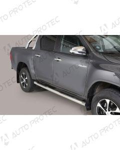 MISUTONIDA boční nerezové nášlapy - 76 mm Toyota Hilux