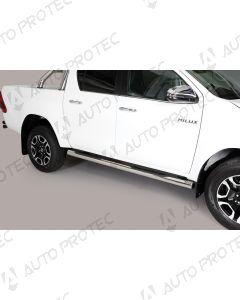 MISUTONIDA boční nerezové nášlapy - 76 mm Toyota Hilux 15-