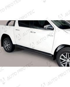 MISUTONIDA boční černé nášlapy - 76 mm Toyota Hilux