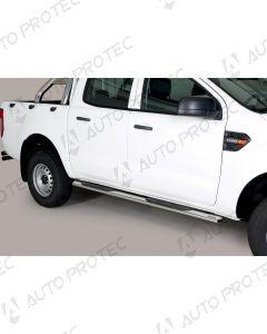 MISUTONIDA boční nerezové nášlapy - oválné Ford Ranger