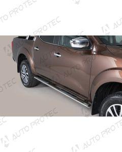 MISUTONIDA boční nerezové nášlapy - oválné Nissan Navara